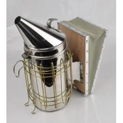 Közepes - INOX füstölő bőr fújtatóval