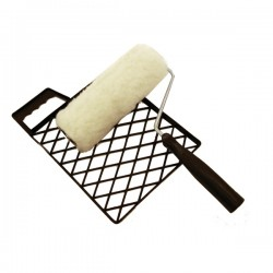 Teddyhenger ráccsal 180mm műanyag lépalap viaszozáshoz